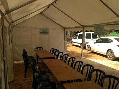 אוהל להשכרה ל 10 איש