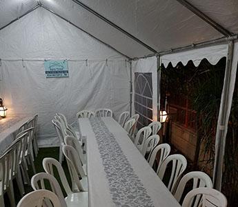 אוהל להשכרה 10x4