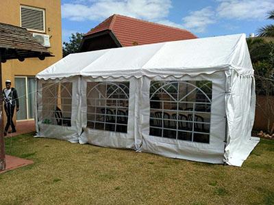 השכרת אוהל ל 30 איש