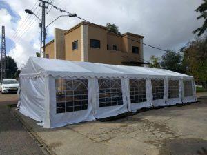 המחירון שלנו דוגמא של אוהל אבלים