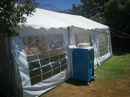 השכרת אוהלים עם מיזוג